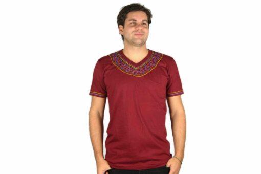 Shipibo Shirt Ayyamare XL Modell 2