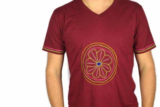 Shipibo Shirt Muehis XL Modell 3