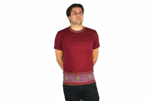 Shipibo Shirt Usaqui L Modell 3