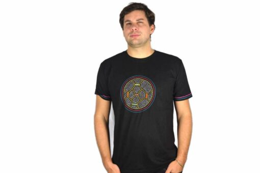 Shipibo Shirt Acceriqui XL Modell 2