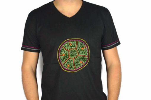 Shipibo Shirt Acceriqui XL Modell 4