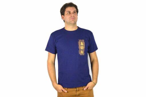 Shirt Tejido Inca Dunkelblau