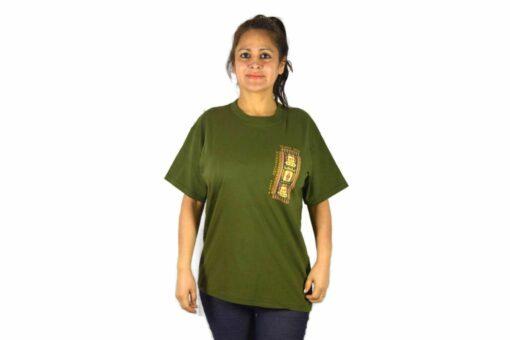 Shirt Tejido Inca Olivgrün