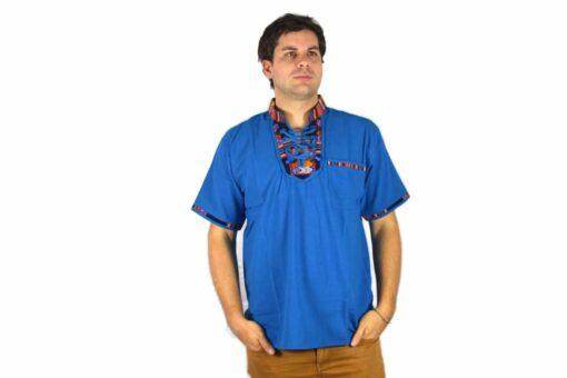 Aguayo Shirt blau