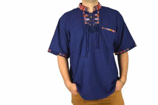 Aguayo Shirt dunkelblau