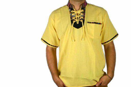 Aguayo Shirt gelb