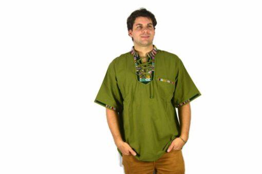 Aguayo Shirt grün
