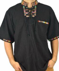 Aguayo Shirt schwarz