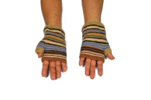 Alpaka Handschuhe Orko beige