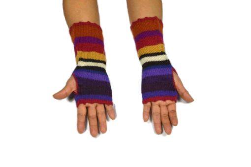 Alpaka Handschuhe Peru Modell 1