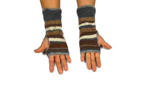 Alpaka Handschuhe Peru Modell 3