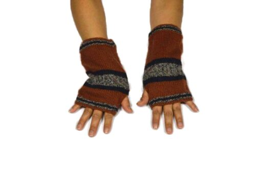 Alpaka Handschuhe Peru Modell 4