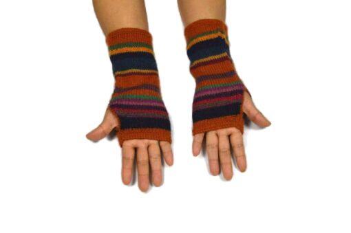 Alpaka Handschuhe Peru Modell 6
