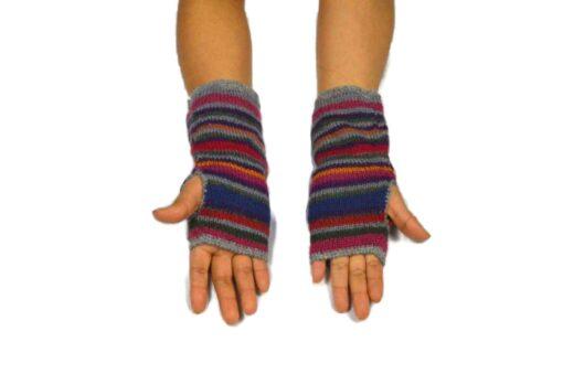 Alpaka Handschuhe Peru Modell 7