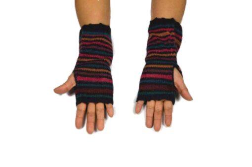 Alpaka Handschuhe Peru Modell 8