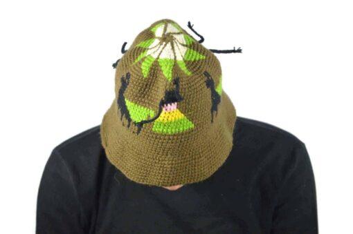 Alpaka Hut braun
