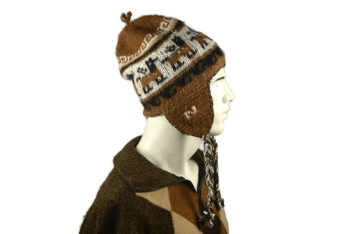 Alpaka Mütze Herren Modell 6