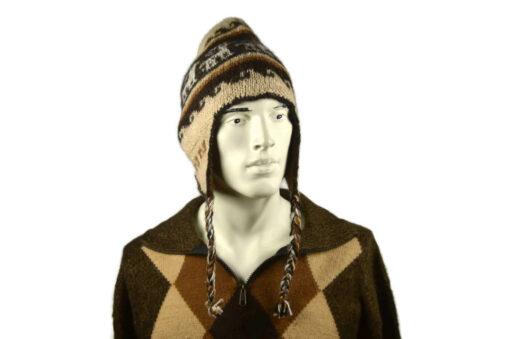 Alpaka Mütze Herren Modell 5