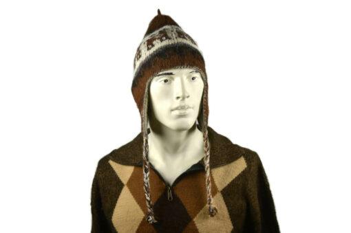Alpaka Mütze Herren Modell 4