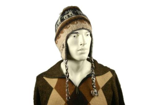 Alpaka Mütze Herren Modell 3
