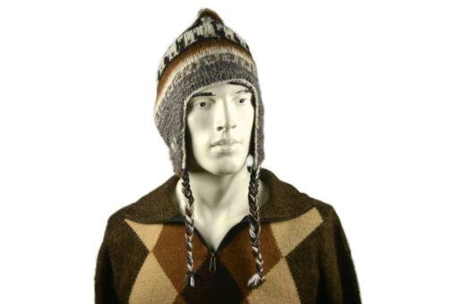 Alpaka Mütze Herren Modell 1