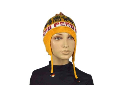 Alpaka Mütze Classico Gelb Modell 1