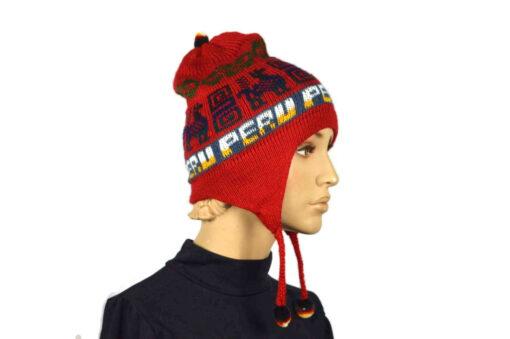 Alpaka Mütze Classico Rot Modell 2