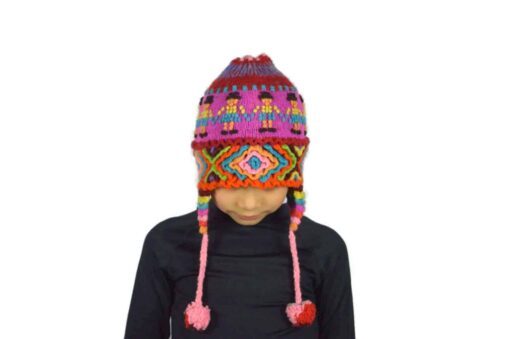 Alpaka Mütze Kinder