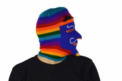 Peruanische Maske Waq ollo Modell 10
