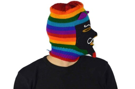 Peruanische Maske Waq ollo Modell 11