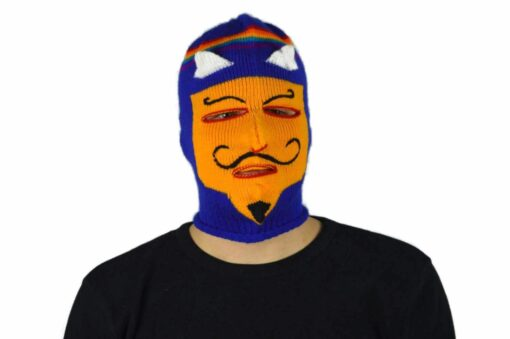 Peruanische Maske Waq ollo Modell 12