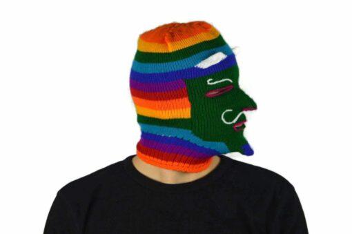 Peruanische Maske Waq ollo Modell 1