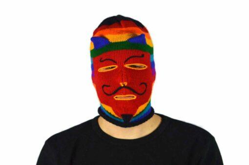 Peruanische Maske Waq ollo Modell 2