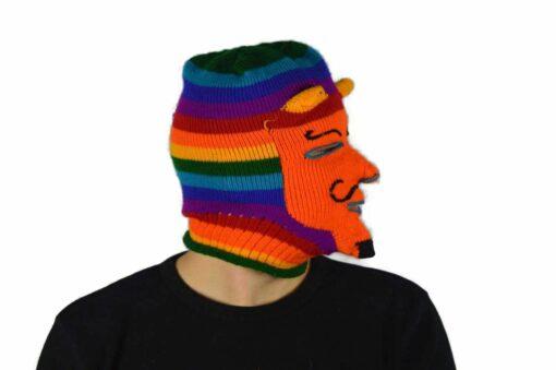 Peruanische Maske Waq ollo Modell 3