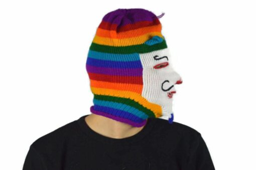 Peruanische Maske Waq ollo Modell 4