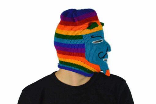 Peruanische Maske Waq ollo Modell 5