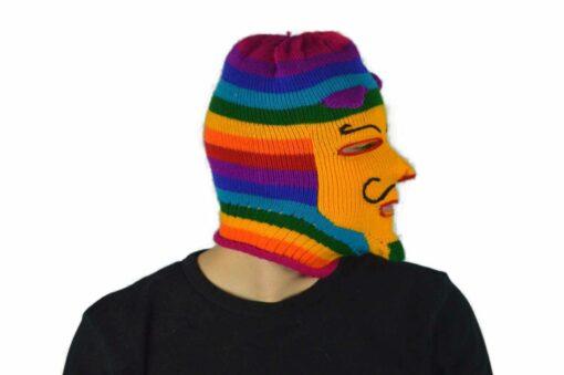 Peruanische Maske Waq ollo Modell 6