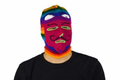 Peruanische Maske Waq ollo Modell 7