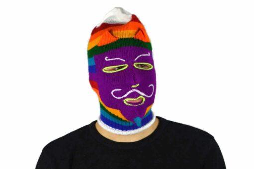 Peruanische Maske Waq ollo Modell 9