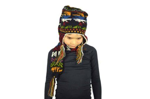 Kindermütze mit Schal Modell 1