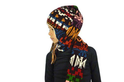 Kindermütze mit Schal Modell 2