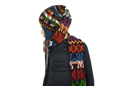 Kindermütze mit Schal Modell 3