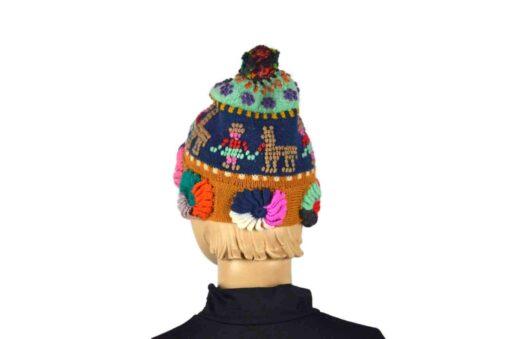 Fair Trade Mütze Blau