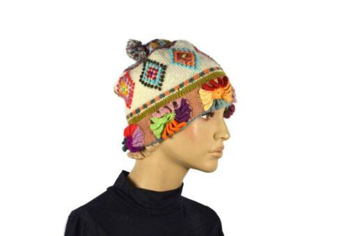 Fair Trade Mütze Weiß