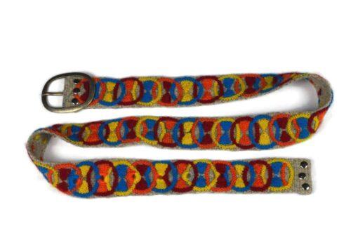 Bestickter Gürtel Ringe
