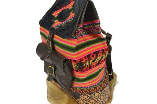Damenrucksack Peru Inti rot