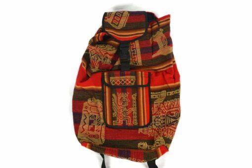 Rucksack Peru Manta Rot