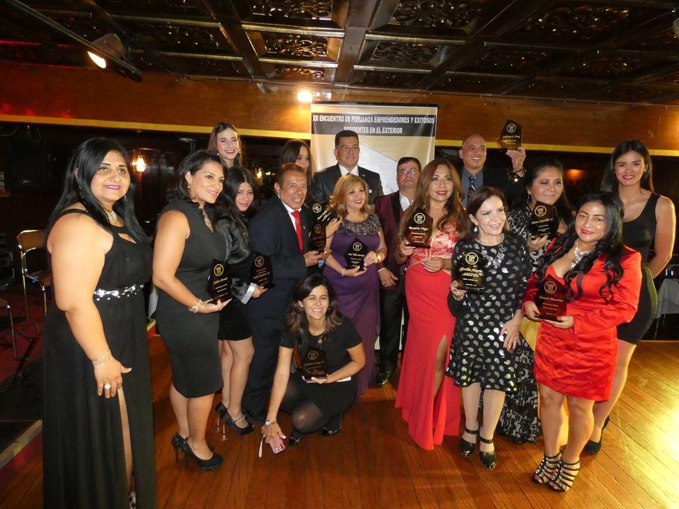 Sieger des Preises Orgullo Peruano 2019