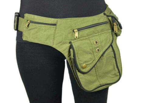 Hüft Side Bag olivgrün