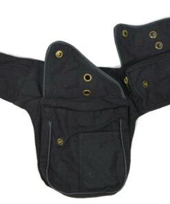 Hüft Side Bag schwarz